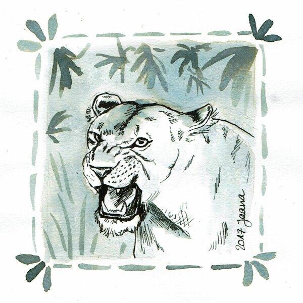 14-fierce- Löwe
