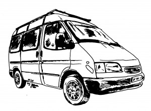 Ford Transit Lineart