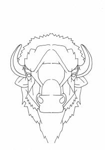 Lineart: Buffalo