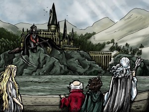 Drawing Contest: Fanart Lord of the Hogwarts