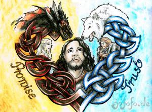 The Heart of Jon TargaryenGame of Thrones Fanart