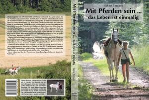 Printdesign: Book Mit Pferden sein ... das Leben ist einmalig