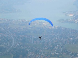 Photography: Flying over the Tegernsee