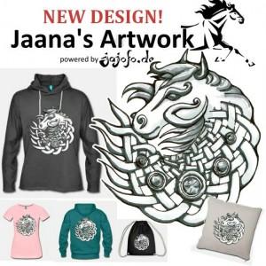 T-Shirtdesign: Celtic Horse